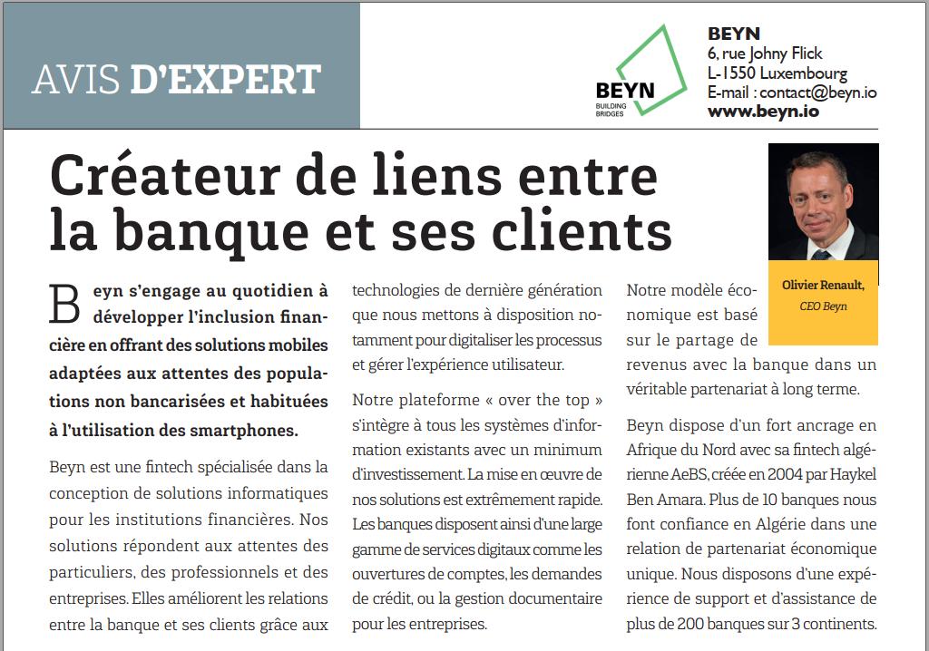 Spotlight on Beyn as it raises the curtain on the pan-African magazine Jeune Afrique.